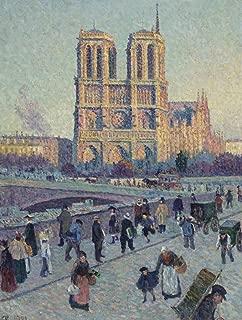 Wooden Jigsaw Puzzle - The Quai Saint-Michel and Notre-Dame - 300 Pieces by Nautilus Puzzles