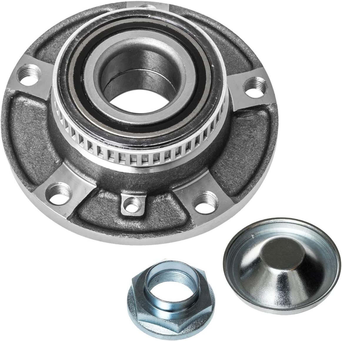 TUCAREST 513125 Front Fresno Mall Wheel Selling and selling Bearing Assembly Hub and Compatible