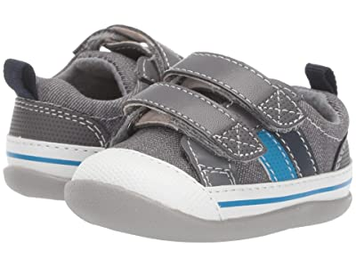 See Kai Run Kids Russell INF (Infant/Toddler) (Gray Denim) Boy
