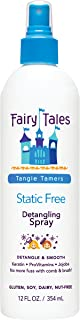Fairy Tales Tangle Tamer Static Free Detangling Spray - Detangler Spray for Kids - Paraben Free, Sulfate Free, Gluten Free...