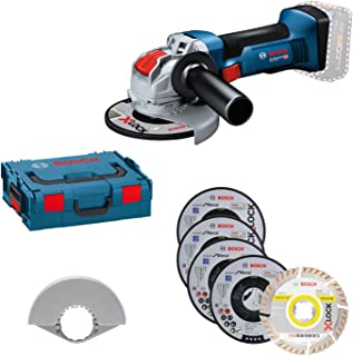 Sponsored Ad – Bosch Professional 18V System Cordless Angle Grinder GWX 18V-8 (disc 125 mm, with X-Lock Mount, incl. 5-pie...