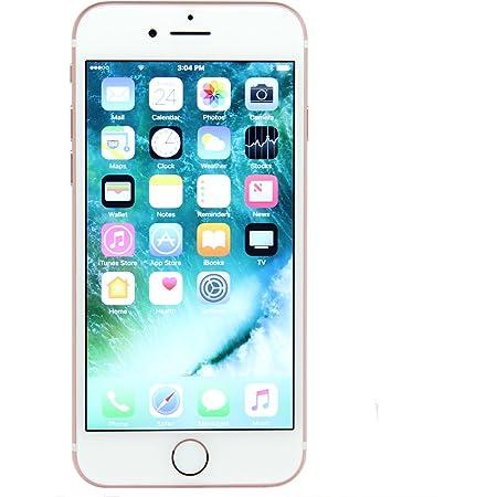 Apple iPhone 7, 32GB, Rose Gold - Fully unlocked- Desbloqueado(Renewed)