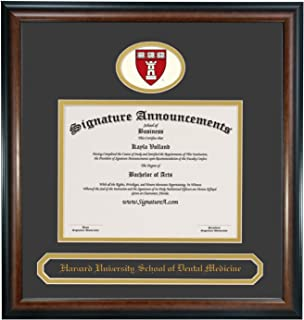 Signature Announcements Indiana University School of Law Indianapolis Sculpted Foil Seal Graduation Diploma Frame 23 x 24 Cherry