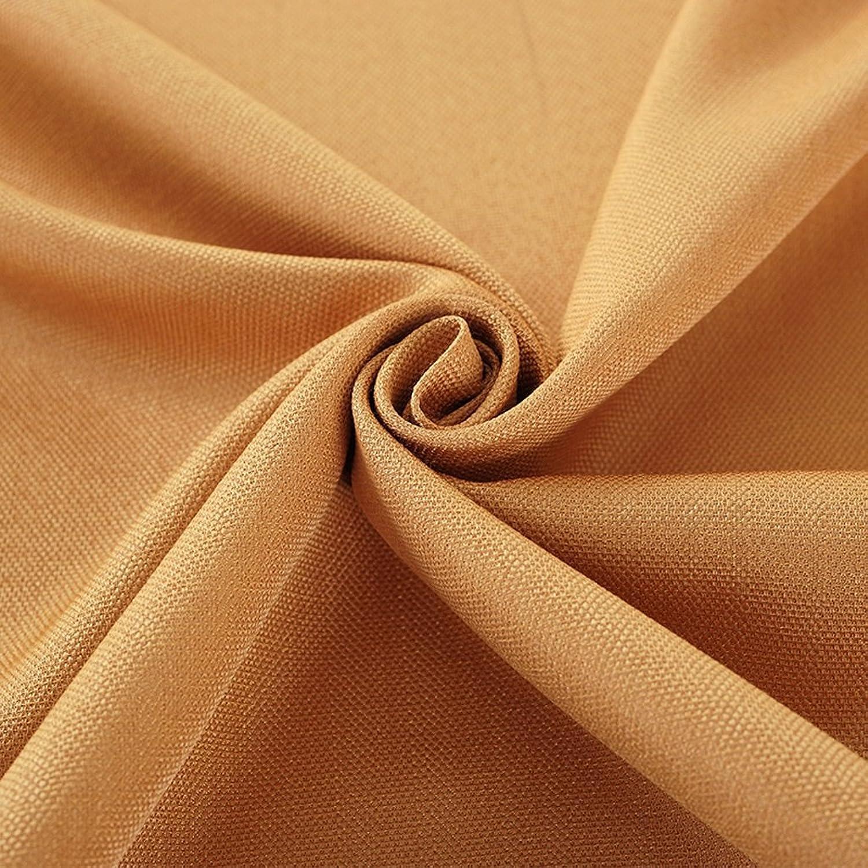NYDZ Runde Leinen Tischdecke Continental Couchtisch Restaurant Hotel Tischdecke Solid Farben mehrere Größen (Farbe   Orange, größe   Round 300cm) B07H3Q4RZN Einzigartig    | Bestellung willkommen