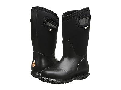 Bogs Kids Durham Solid (Toddler/Little Kid/Big Kid) (Black) Kids Shoes