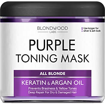 Amazon Com Purple Hair Mask With Retinol Keratin Made In Usa For Blonde Platinum Silver Hair Banish Yellow Hues Reduce Brassiness Condition Dry Damaged Hair,Diy Country Light Fixtures