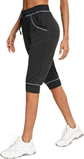 iClosam Pantalones Chandal Mujer Casuals Rayas AlgodóN De Deportivos Yoga Jogger Pantalon Sweatpants con Bolsillos Primave...
