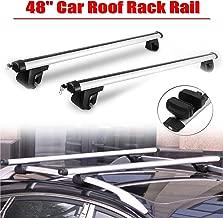 Thule 795000 SmartRack 795 en Aluminium pour Barres de Toit longitudinales-Argent/é Longueur 127 cm Set de 2 Gris