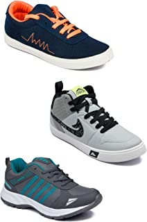 Asian Men's Casual Shoes Combo Pack of 3-0101-M957