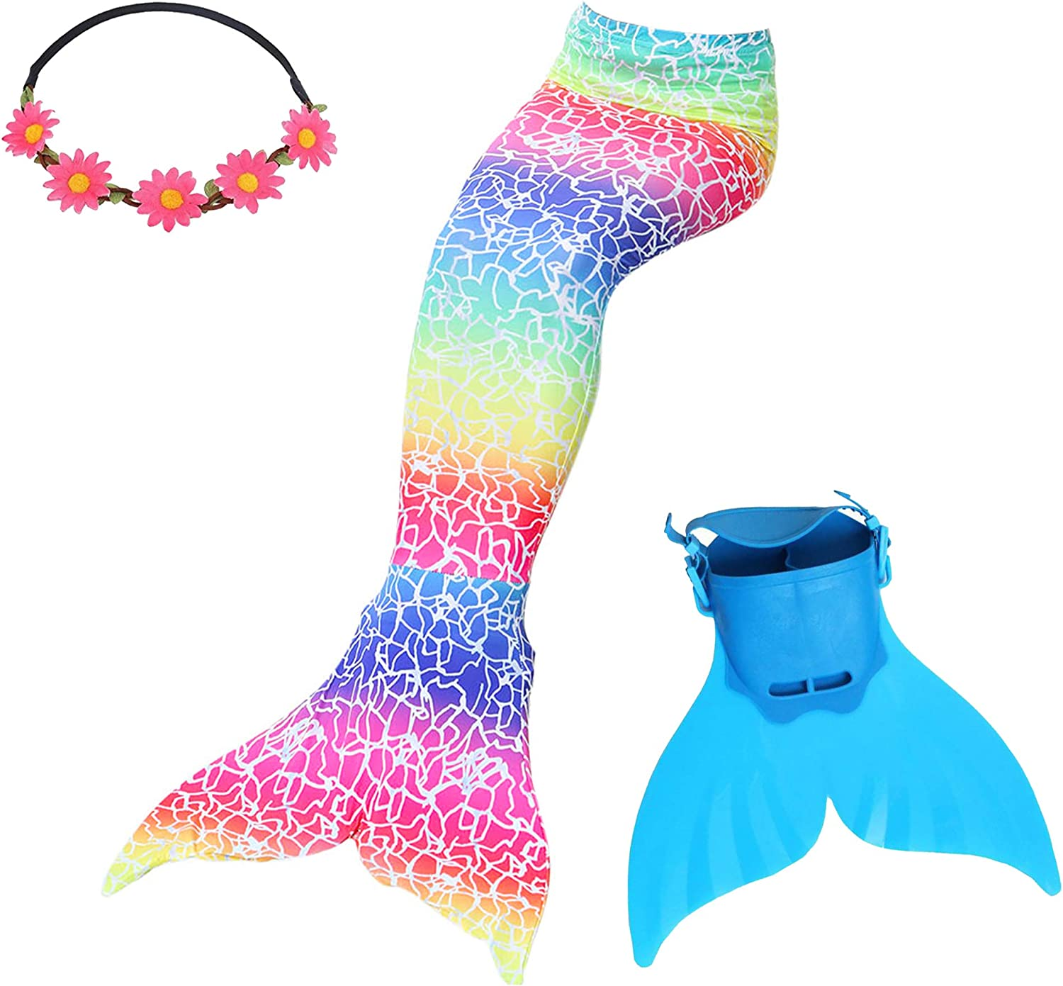 GALLDEALS Free shipping Mermaid Tail Swimsuit Bathing Costume Suit Cosplay wit Max 76% OFF
