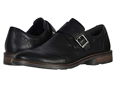 Naot Evidence (Soft Black Leather) Men