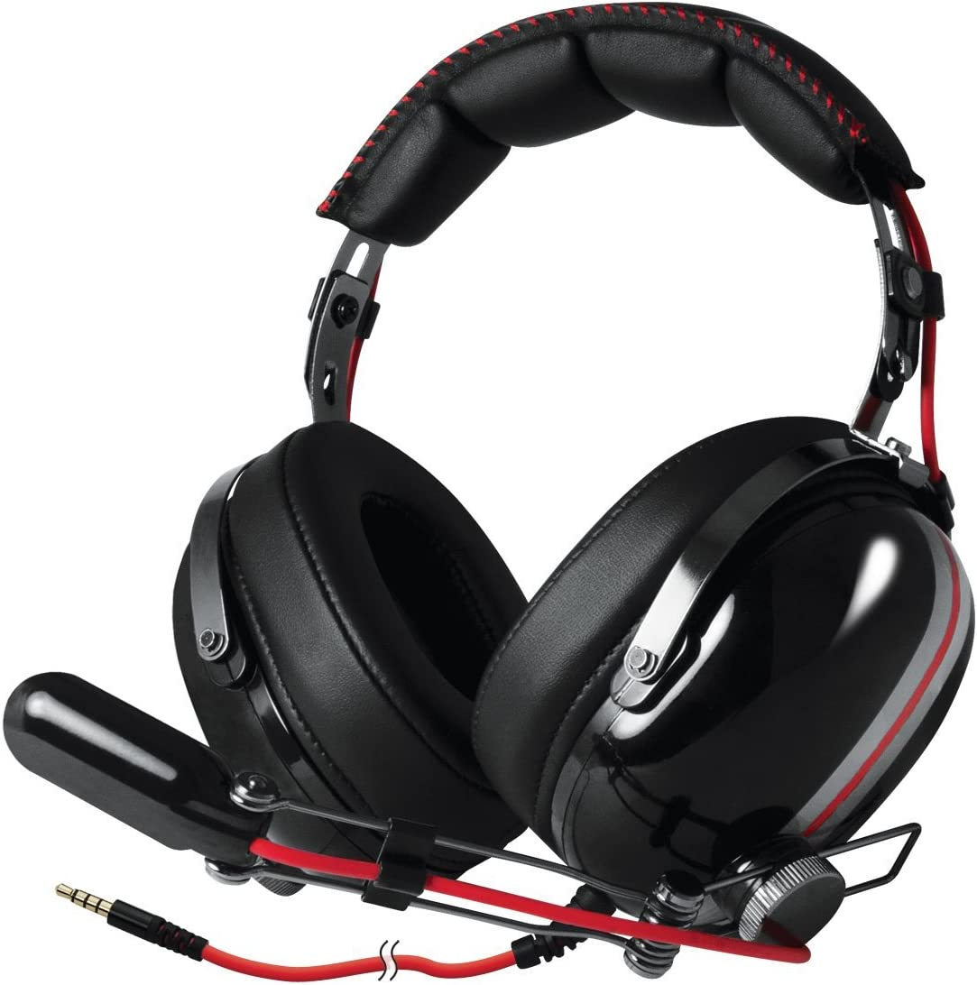 ARCTIC P533 - Stereo Gaming Headset with High Fidelity Sound and Boom Microphone, compatible with PC, Laptop, Smartphones, Tablets, Xbox, Playstation and devices with 3.5 mm jack - Racing