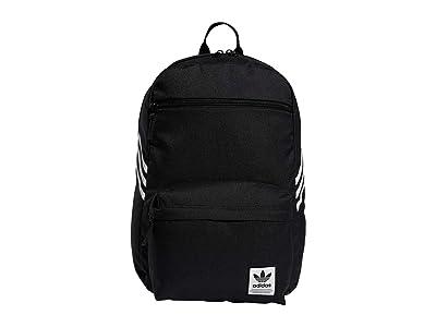 adidas Originals Originals National SST Recycled Backpack (Black) Backpack Bags