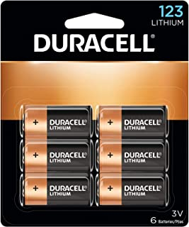 Duracell – 123 High Power Lithium Batteries – 6 Count
