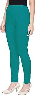 Saundarya Women's Churidar Leggings Soft Cotton Lycra Fabric Slim Fit