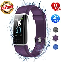 I-Swim Fitness Tracker with Heart Rate Monitor, Iswim Fitness Watch Activity Tracker Smart Watch with Sleep Monitor 14 Sports Mode,Pedometer Watch for Kids Men Women (Color Screen,IP68 Waterproof)
