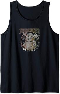Star Wars: The Mandalorian Grogu This Is The Way Bloom Camiseta sin Mangas