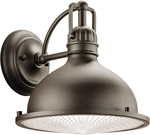 "discount Hatteras Bay 10.25"" 1 Light online Exterior outlet online sale Wall Light with Clear Fresnel Lens Olde Bronze sale"