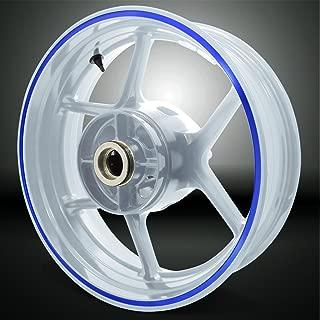 Thick Outer Rim Liner Stripe for Suzuki GSXR 1000 Reflective Blue