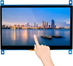 SunFounder Raspberry Pi 4 Display Touchscreen 7 Inch HDMI 1024×600 USB IPS LCD Screen Display Monitor for Raspberry Pi 4 3 Model B, 2 Model B, and 1 Model B+, Windows Capacitive Touch Screen