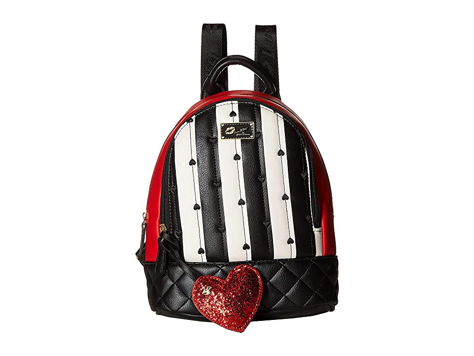 Luv Betsey Jaz Mid Size PVC Backpack (Red) Backpack Bags