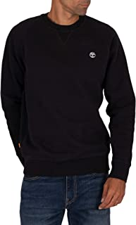 Timberland Men's Basic Crew Sweatshirt, Black