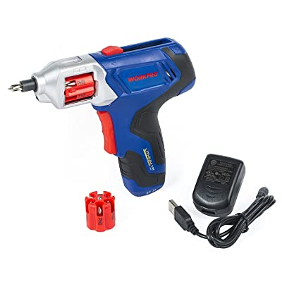 WORKPRO Cordless Rechargeable Power Screwdriver