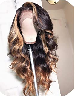 13X6 Deep Part Lace Front Human Hair Wigs Body Wave 180% Density Remy Human Hair Pre-Plucked Hairline,12Inches,150%,13X3 Lace Front Wig