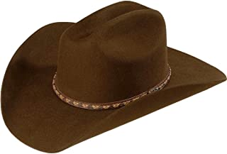 b3e7c88080a0f Justin Men s Plains 2X Wool Felt Cowboy Hat - Jf0242 Plns