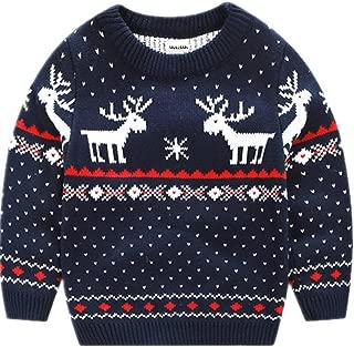 MULLSAN Children's Fireplace Lovely Sweater Christmas Best Gift