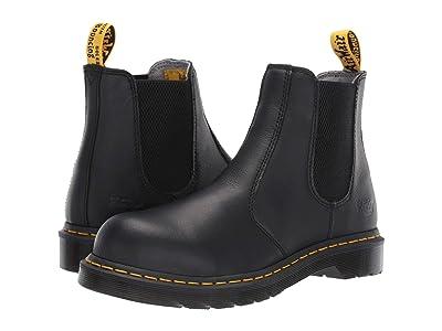 Dr. Martens Work Arbor Steel Toe Chelsea Boot (Black) Women