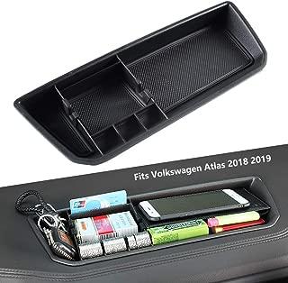 EDBETOS Interior Dashboard Storage Box Organizer Holder Tray Compatible with VW Volkswagen Atlas 2018 2019 Dash Mounted Holders Accessories