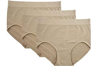Women's Underwear Full Brief Panties Silky Touch Microfiber - 3 Pack