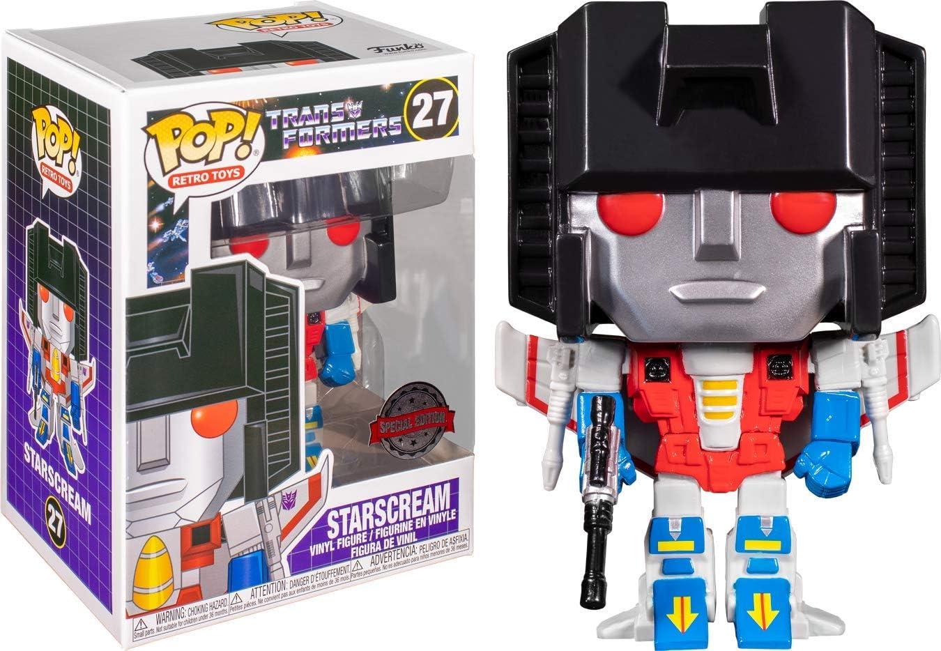Funko POP Retro Toys: Transformers Target - 1 year At the price warranty Exclusi Starscream
