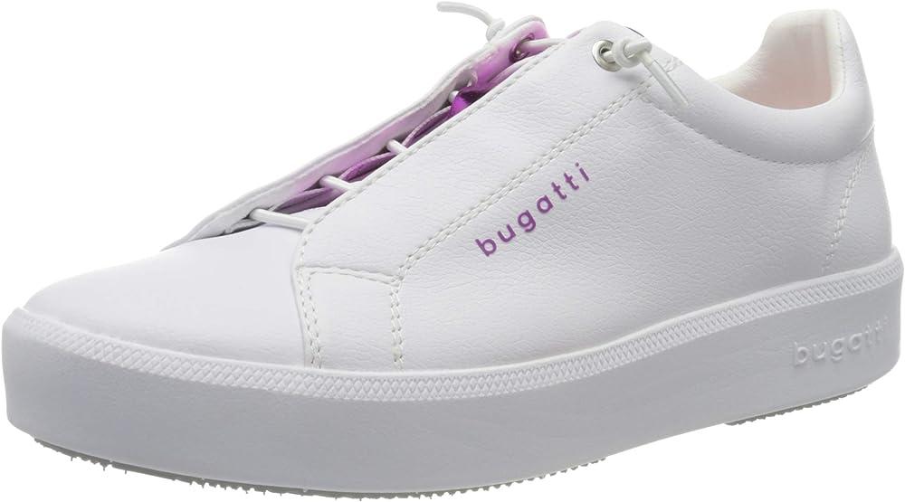 Bugatti,scarpe sneakers per donna,stile moderno,in ecopelle 4324076a5059