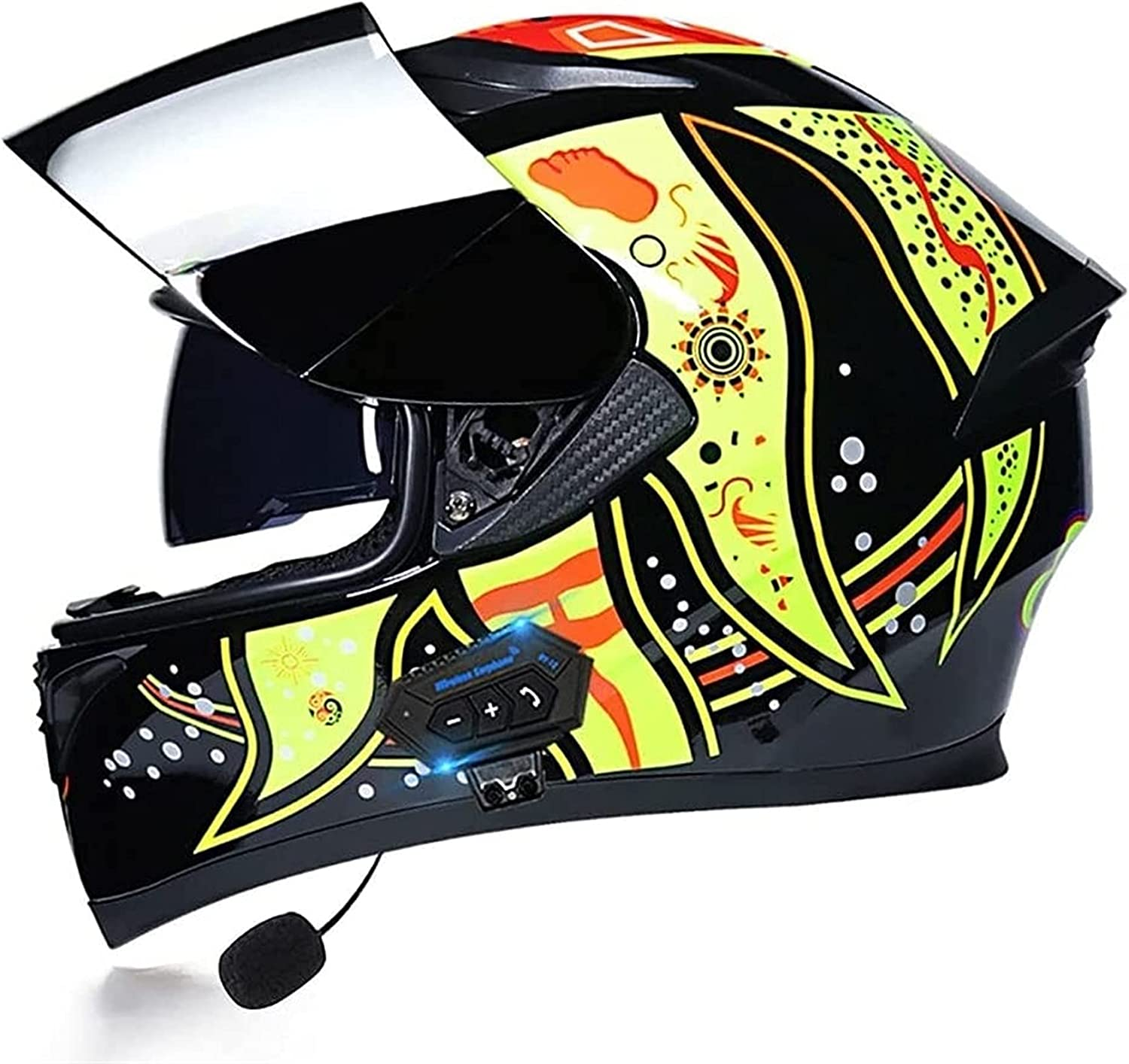 YALIXING Flip Up Sale SALE% OFF Motorcycle V Spring new work one after another Dual Anti-Glare Helmet