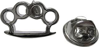 Brass Knuckle Lapel Pin