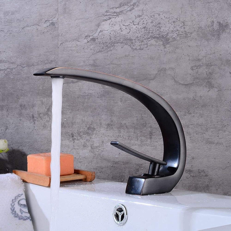 Wasserhhne Waschtischarmaturen Kupfer Schwarz Antiken Wasserhahn Heien Und Kalten Becken Waschbecken Schwarz Weinglas Einlochmontage Antiken Wasserhahn