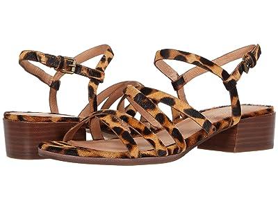 Madewell Natty Skinny Strap Sandal (Truffle Multi) Women