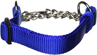 "Hamilton Adjustable Combo Choke Dog Collar, Blue, Small, 5/8"" x 12-18"""