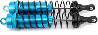 RCAWD 140mm Shock Absorber Damper 81005 Aluminum Oil Filled Adjustable for Rc Car 1/8 Buggy Truck Crawler Upgraded Hop-Up Parts HPI HSP Traxxas Losi Axial Tamiya Redcat(Blue)