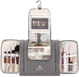 Hikenture Large Travel Hanging Toiletry Bag - Cosmetics Makeup Organizer for Bathroom,Gym, Hotel, Airplane(GL)