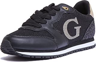 Guess Chaussures running mode Sneakers black lady Noir