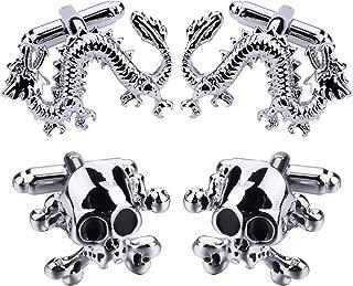 Best skull and crossbones cufflinks Reviews