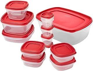 rubbermaid easy find lids 24 piece set