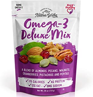Nature's Garden Omega-3 Deluxe Nut Mix, 26 oz (Pack of 1)