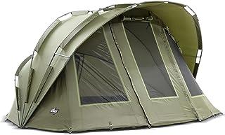 Lucx® Bobcat fisketält 2 man Bivvy karptält 2 personer fisketält carp kupol fiske tält campingtält
