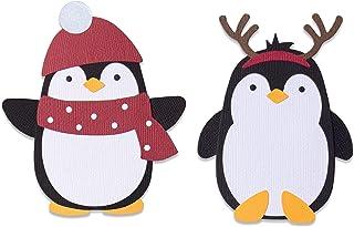 Sizzix Matrice de decoupe Bigz 664499 Pingouin Amis par Olivia Rose Scrapbooking, Multicolor, Taille unique