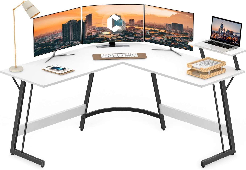 Cubiker Modern L-Shaped Desk Computer Laptop Corner Wri PC Cash special Limited price price
