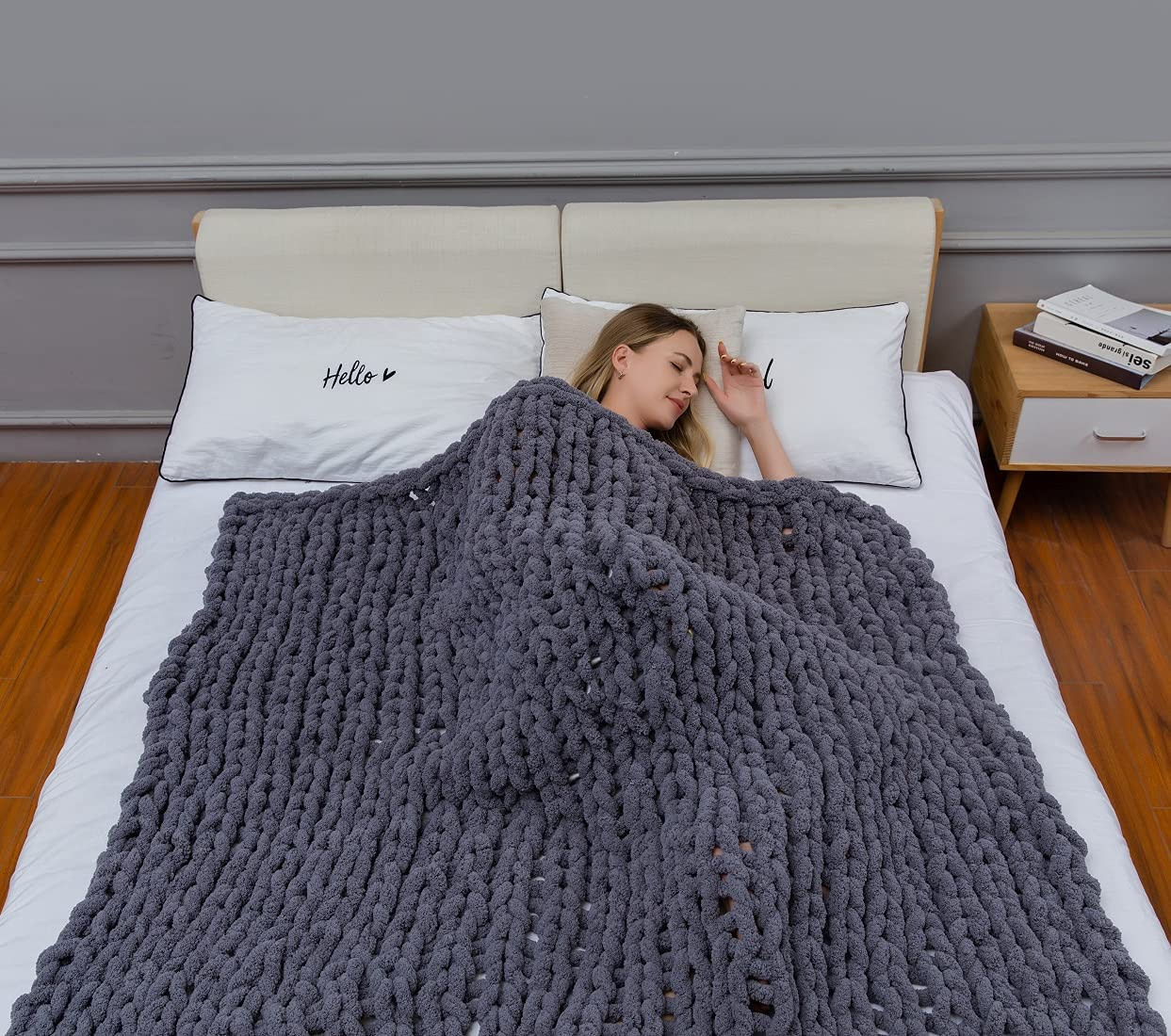 Chunky Knit All stores are Max 80% OFF sold Luxury Throw Blanket Sof Premium Large Cable Knitted